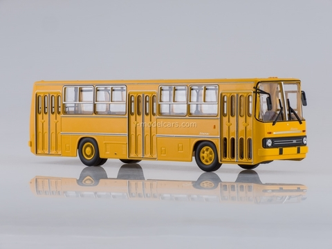 Ikarus-260 city orange Soviet Bus (SOVA) 1:43