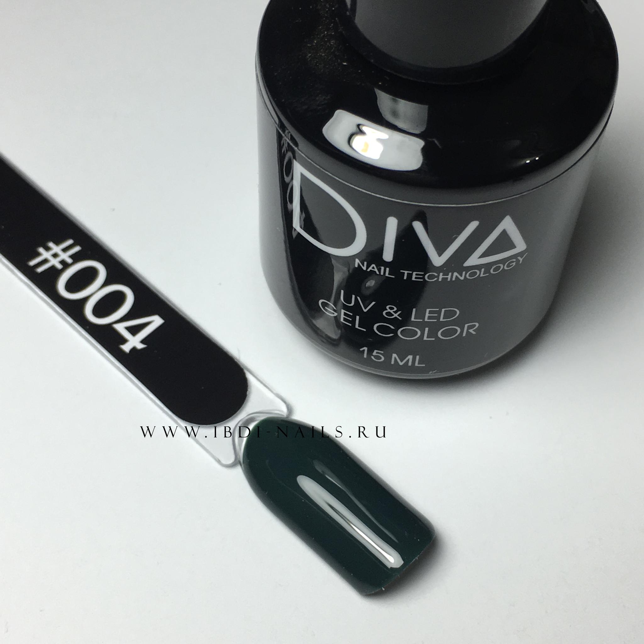 Гель-лак DIVA 004 15мл