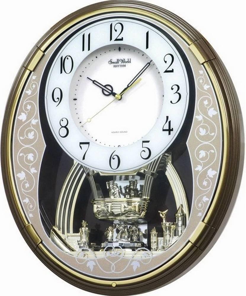 Настенные часы Rhythm 4MH853WD06
