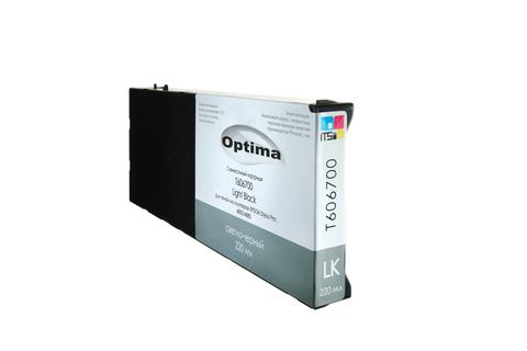 Картридж Optima для Epson 4000/7600/9600 C13T544700 Light Black 220 мл