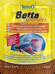 Корм для петушков, TetraBetta Granules, в гранулах, 5 г (sachet)