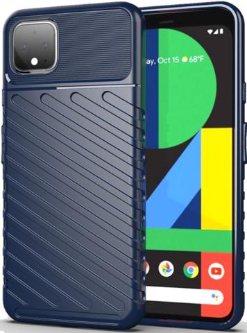 Чехол на Google Pixel 4 цвет Blue (синий), серия Onyx от Caseport