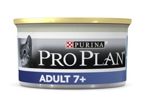 Pro Plan Конс ж/б для пожилых кошек мусс (тунец) 85 г