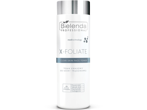 X-FOLIATE Clear Skin Тоник для лица  с кислотами для жирной кожи