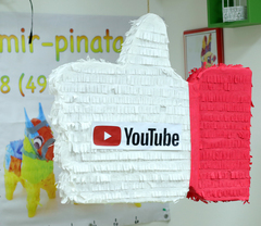 Пиньята лайк YouTube - мир-пиньята   пиньята на заказ , изготовление за 1 день  mir-pinata.ru
