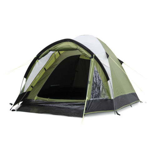 Кемпинговая каркасная палатка KAMPA Brighton 2 Green