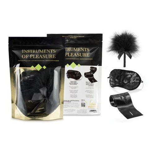 Эротический набор Instruments of Pleasure с пуховкой
