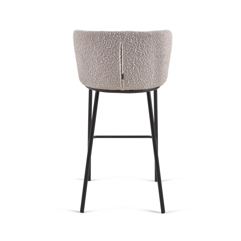 Барный стул Ciselia серый - вид 5