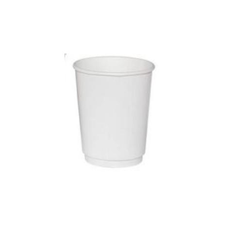 Одноразовая посуда стакан 300/355мл белый SP12 (TL90) гор. 1 сл.