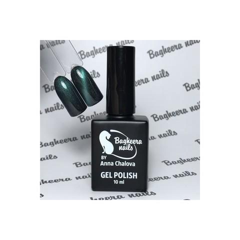 Bagheera Nails BN-82 Кошачий глаз 3D изумруд гель-лак 10 мл