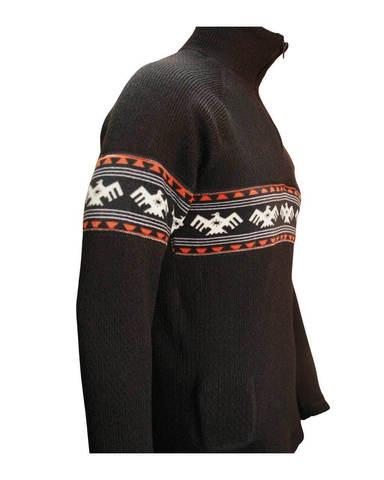 Фуфайка шерстяная с подогревом RedLaika Arctic Merino Wool RL-TM-06 с флисом