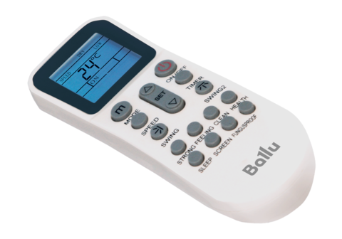 Комплект - Ballu BLC_C-12HN1_17Y (compact) полупромышленной сплит-системы, кассетного типа