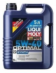 Моторное масло LIQUI MOLY Optimal Synth 5W-40 5 л