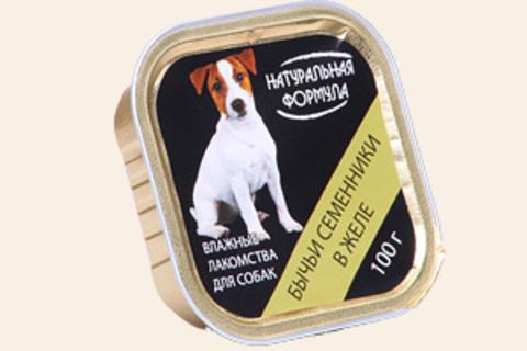 Натуральная формула Бычьи семенники в желе, 100г (упаковка 15 банок)