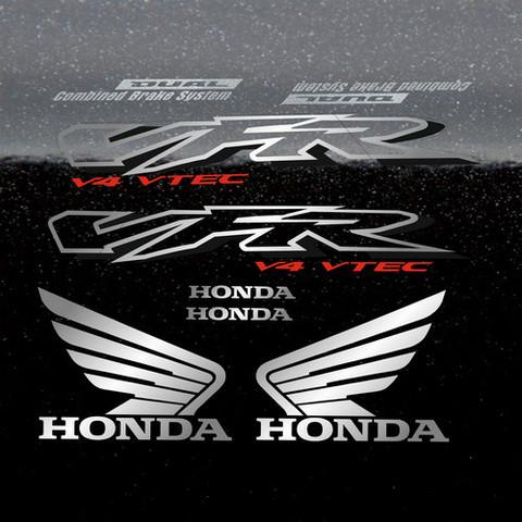 Набор наклеек на мотоцикл HONDA VFR 800I 2002 ЧЕРНАЯ ВЕРСИЯ