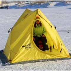 Зимняя палатка автомат Helios Delta двускатная (HS-ISD-Y)