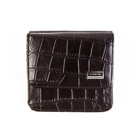Маленький кошелёк коричневый из натуральной кожи Dublecity 063-DC9-12B