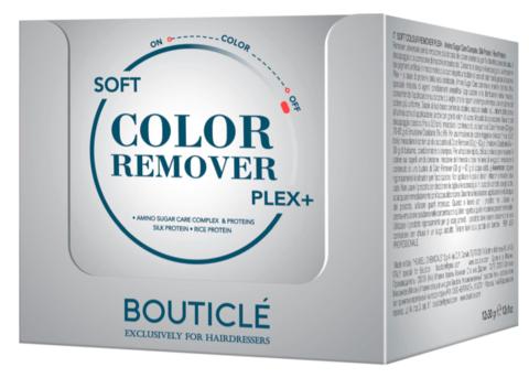 Деликатная кондиционирующая щелочная смывка для волос с системой Bouticle Plex+ 12*30 гр