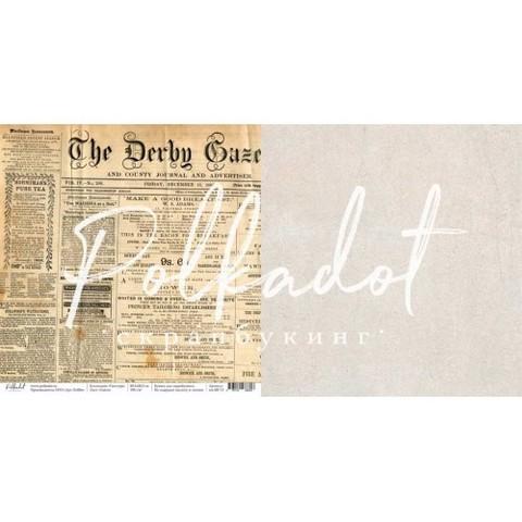 Бумага для скрапбукинга Газета