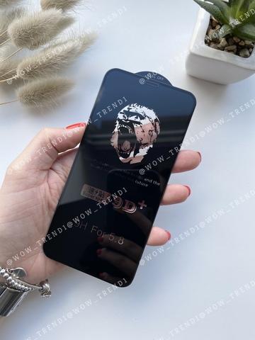 Стекло защитное 9D+ iPhone 6/6S 0,18 /black/ Ultra thin