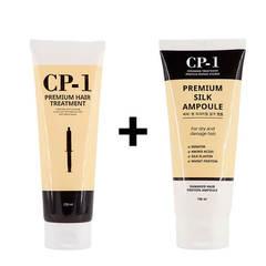 CP-1 Набор из маски и сыворотки для волос с протеинами