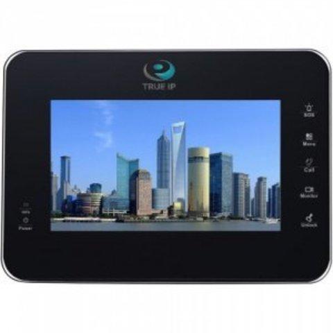 Монитор IP-видеодомофона TI-2760B (черный)