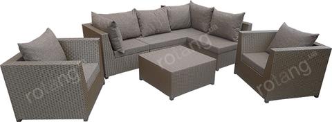 """Крісло """"Ібіца"""" з подушками"""