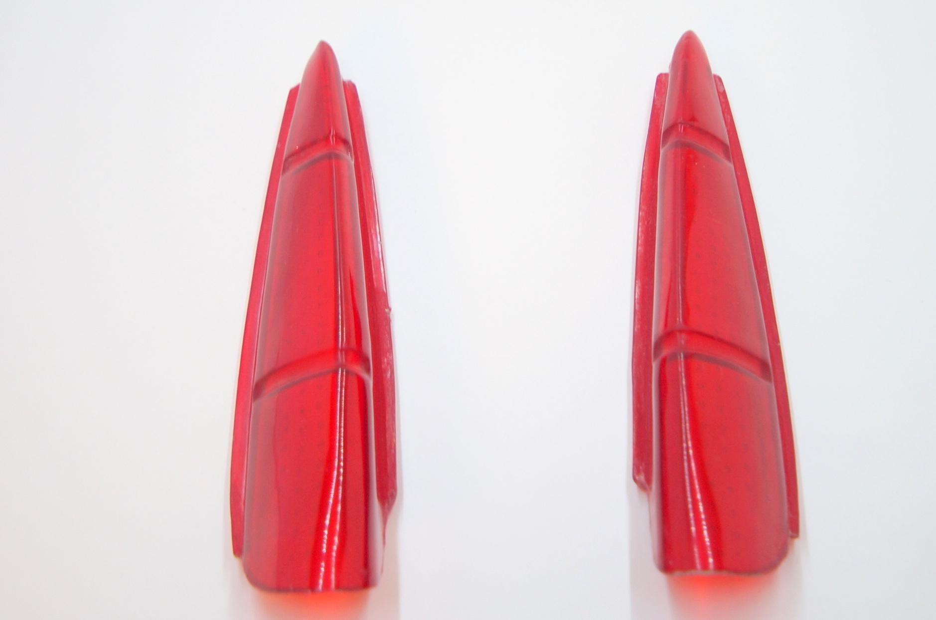 Пластиковые вставки в заднюю птицу 1 серии