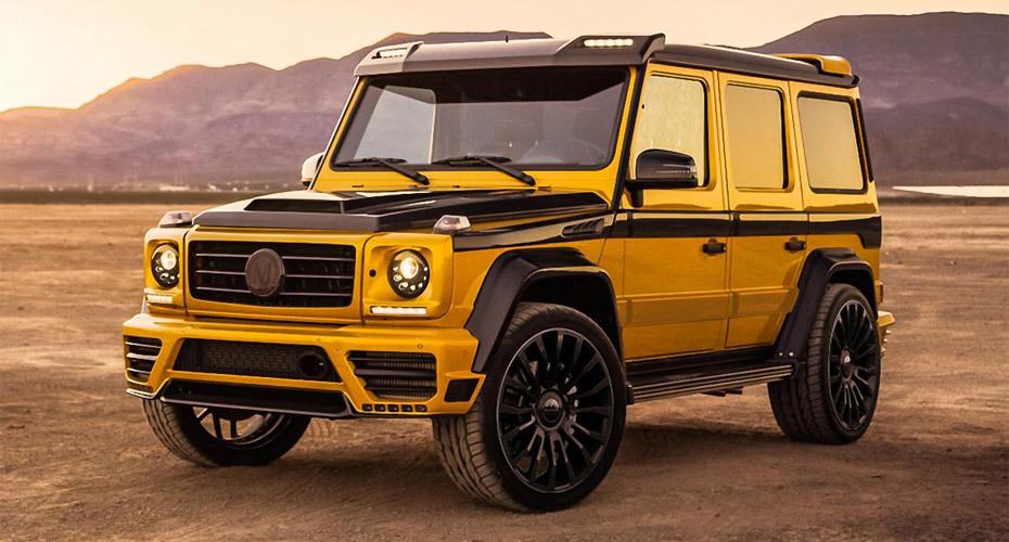Обвес Mansory Wide для Mercedes W463