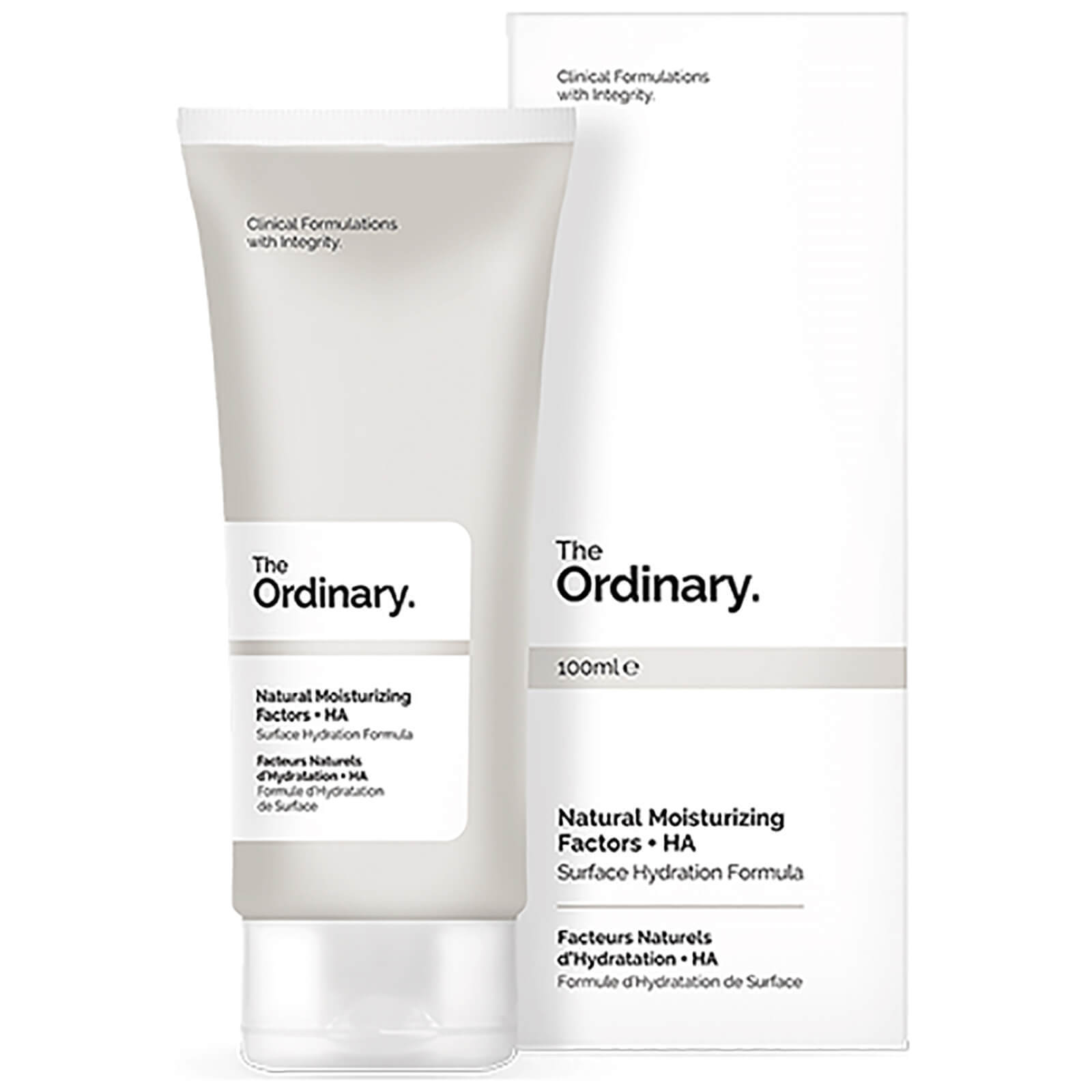 Крем The ordinary Natural Moisturizing Factors + HA увлажняющий 100 ml