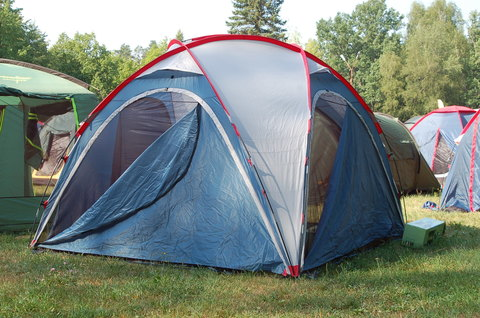 Шатер Canadian Camper SPACE ONE, цвет royal, зачехленный.