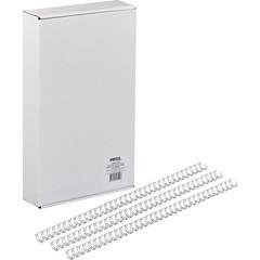 Пружины для переплета металлические Promega office 7.9 мм серебристые (100 штук в упаковке)
