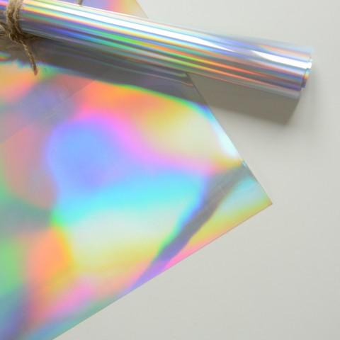 Термотрансферная пленка металлик, спектр зеркальный, размер отреза 25х25 см