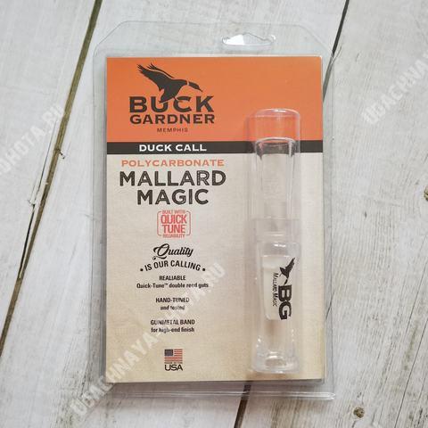 Двухъязычковый манок на утку Buck Gardner Mallard Magic