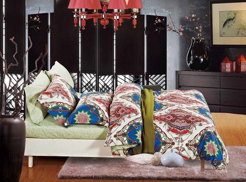 Семейное постельное белье сатин-твил TPIG6-72