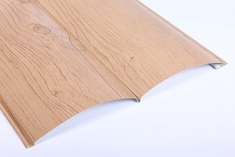 Металлический сайдинг под бревно Металл Профиль блок-хаус Ecosteel Сосна матовый 0,5 мм