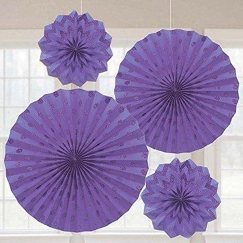 Фант New Purple Горош-Шеврон блеск 4шт/A