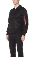 Бомбер Alpha Industries CWU 36/P MOD Triton Black (Черный)