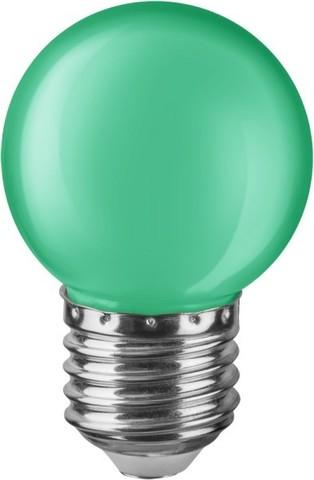 Лампа Navigator 71 828 NLL-G45-1-230-G-E27 Зеленая
