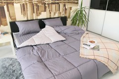 Комплект постельного белья GOCHU Solido set K серый