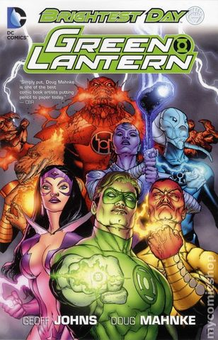 Green Lantern Brightest Day TPB
