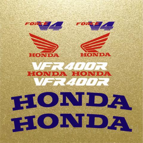 Набор виниловых наклеек на мотоцикл HONDA VFR400R