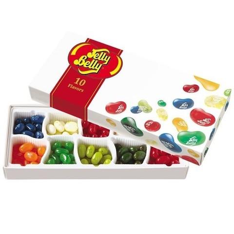 Jelly Belly 10 flavours Джелли Белли 10 вкусов 125 гр подарочный набор