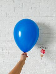 Синий воздушный шар