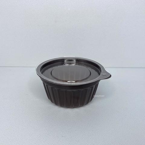 Соуница IT-50 50 мл коричневая + крышка прозрачная (100 шт.)
