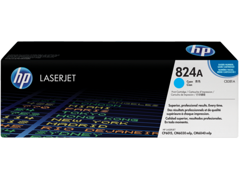 Картридж лазерный цветной original 824A CB381A голубой (cyan), до 21000 стр. - купить в компании MAKtorg