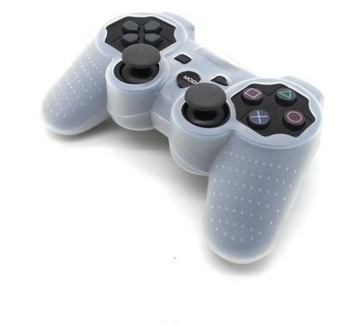 Чехол для беспроводного контроллера DualShock 3 (белый)