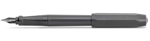 Ручка перьевая KAWECO PERKEO All Black M 0.9мм цвет корпуса черный