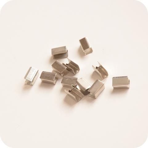 Зажим соединитель 9*4*5мм, серебро