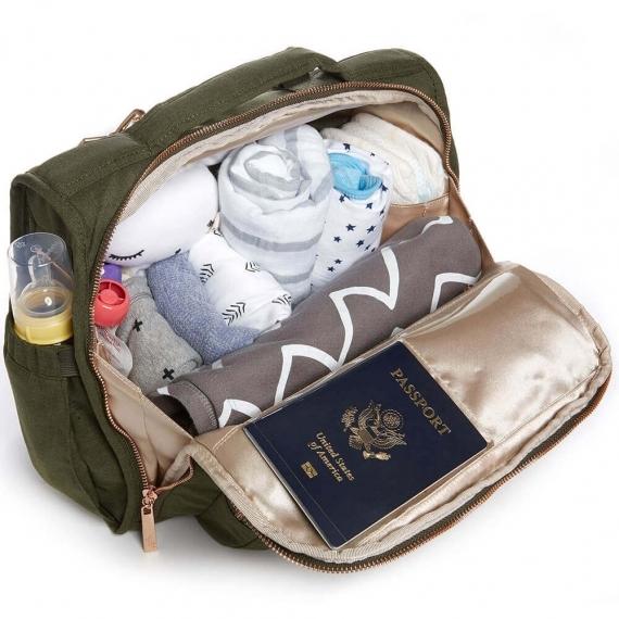 Сумка рюкзак для мамы B.F.F. JuJuBe Olive Chromatics